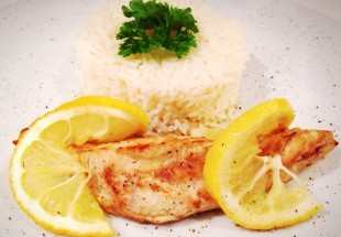 Lemon-Chicken mit Basmati-Reis