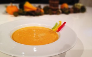 Paprikaschaum-Suppe