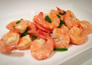 King Prawns in Chili und Knoblauch